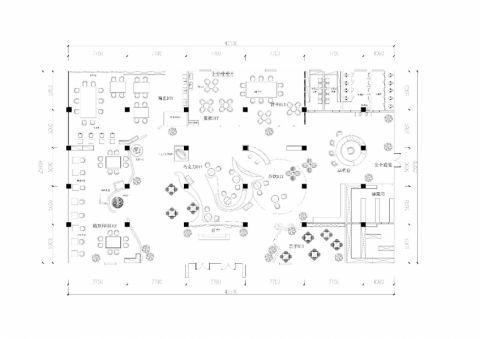 1100平方DIY生活会馆装修效果图
