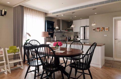 2021美式100平米图片 2021美式三居室装修设计图片