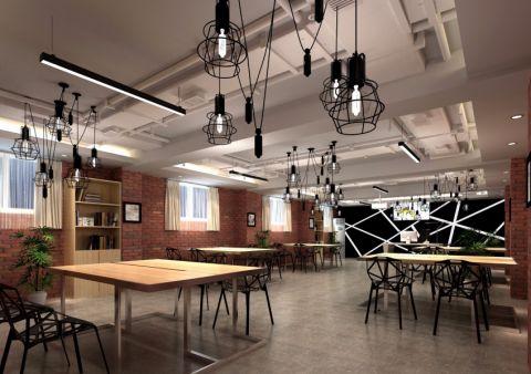 艺术学校工业风工作室装修效果图