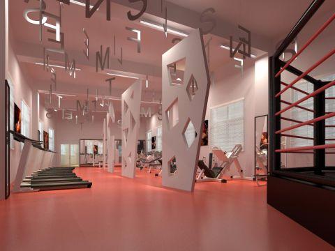 800平方郑州经世健身房装修效果图