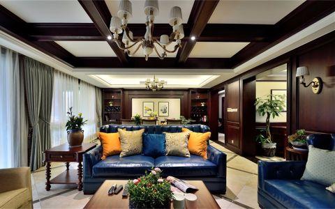 淡雅客厅美式设计图片