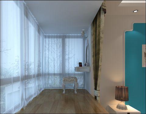 2021地中海阳台装修效果图大全 2021地中海窗帘装修图
