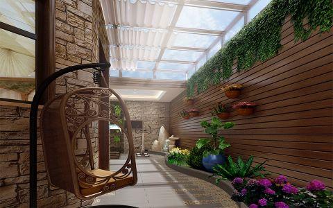 花园走廊新古典风格装潢图片