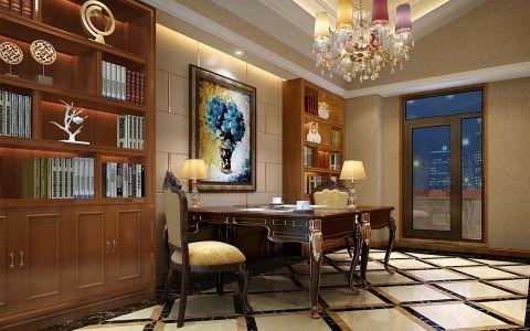 书房走廊新古典风格装潢效果图