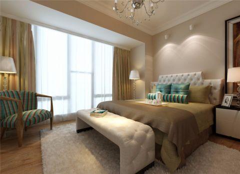东海花园三居室现代风格效果图