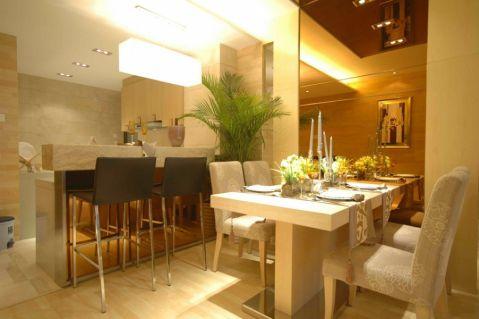 餐厅吧台现代风格装饰效果图
