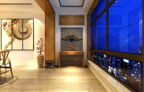 大同铂蓝原著170新中式风格效果图