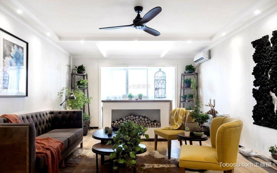 森淼公寓150平米现代园林公寓设计效果图