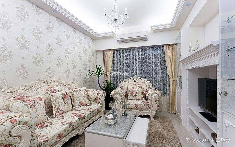 2019新古典70平米设计图片 2019新古典二居室装修设计