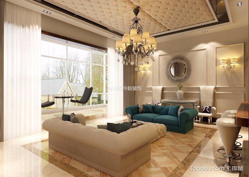 半山国际400平别墅装修设计图