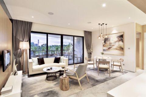 2018简约120平米装修效果图片 2018简约二居室装修设计