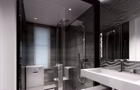 2019现代简约120平米装修效果图片 2019现代简约套房设计图片