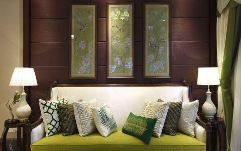 中山南里110平泰式公寓设计效果图