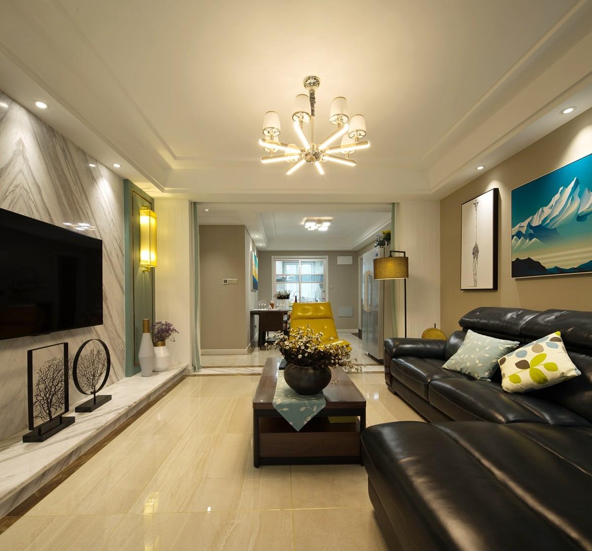 3室1卫1厅138平米现代简约风格