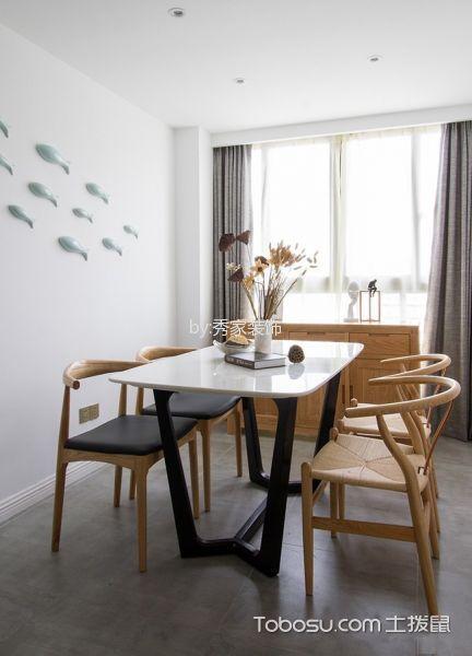 绿城翡翠湾三居室日式装饰效果图