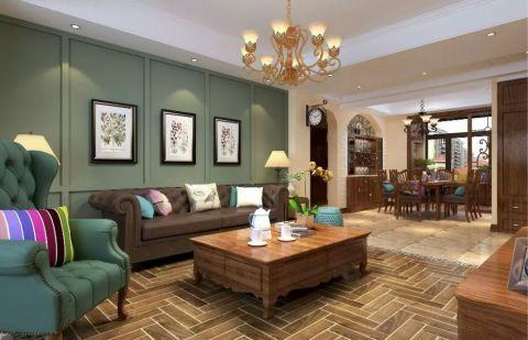 龙湖悠山郡经典两居室美式风格