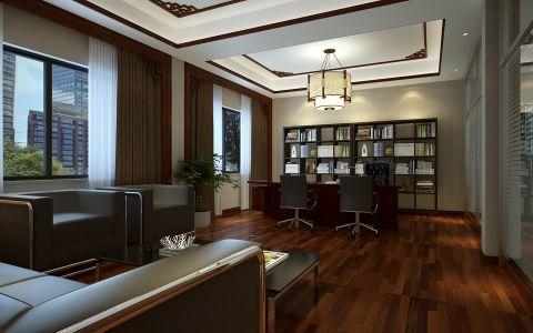 红杉集团中式风格装修效果图