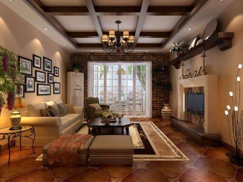 2021新古典150平米效果图 2021新古典三居室装修设计图片