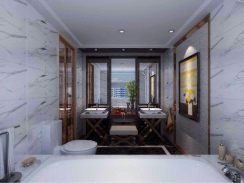 东港第160平米现代风格四居室装修效果图