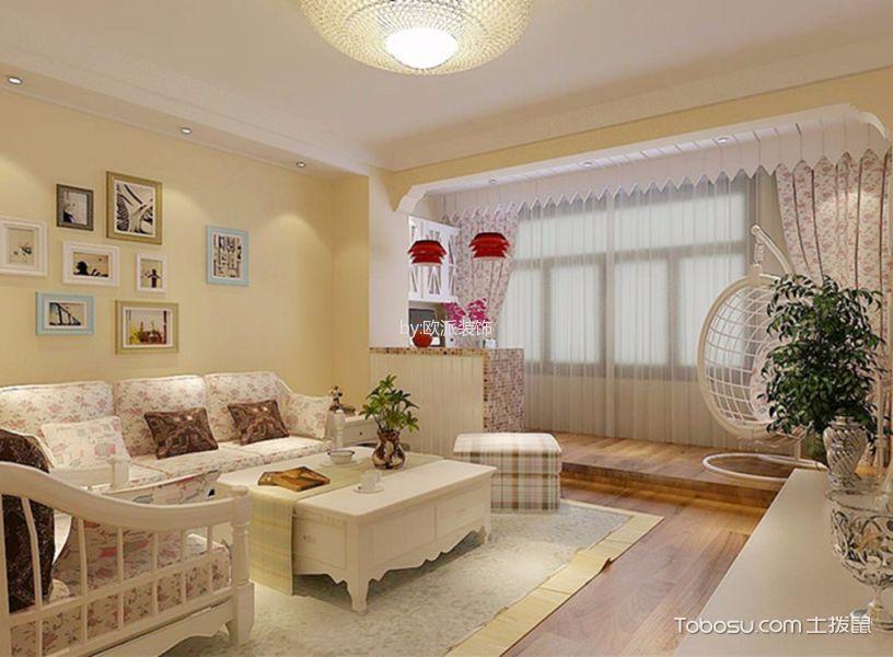 滇池卫城小区婚房装修效果图
