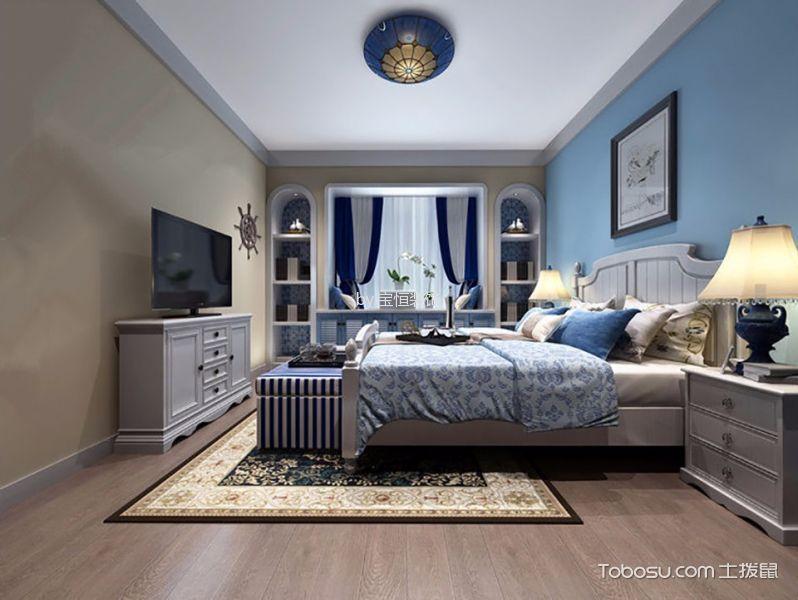 2021地中海70平米设计图片 2021地中海一居室装饰设计