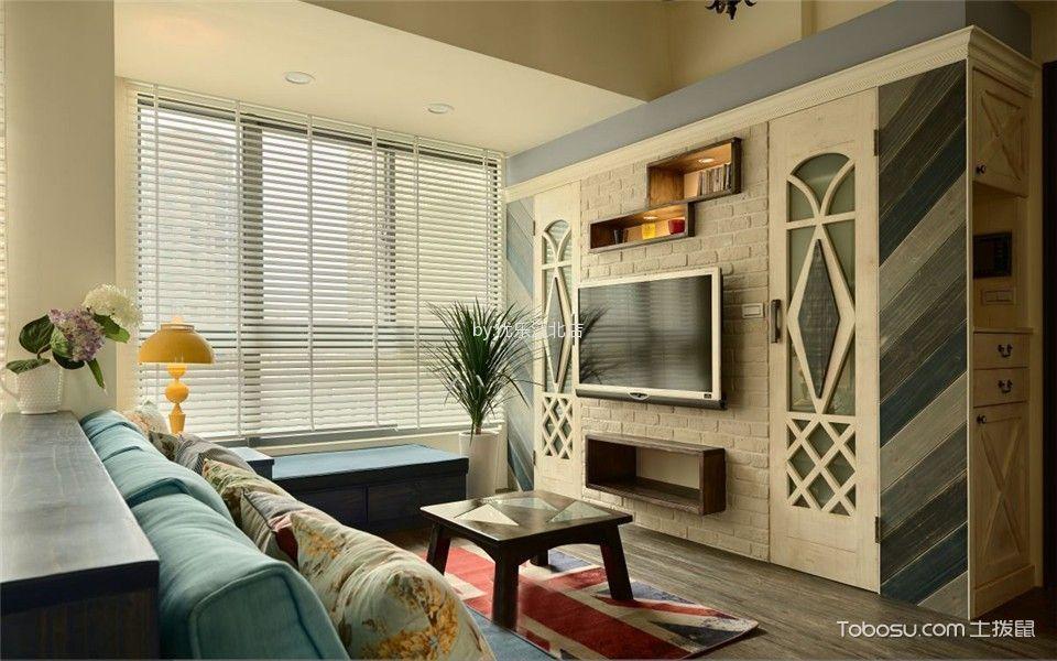 2021田园70平米设计图片 2021田园三居室装修设计图片