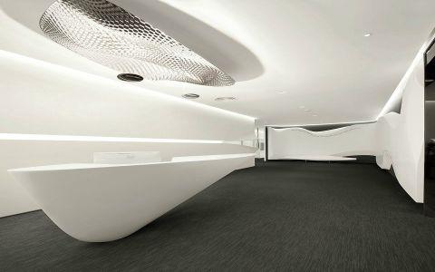 """""""互融""""博炜曼办公空间简约设计图片"""
