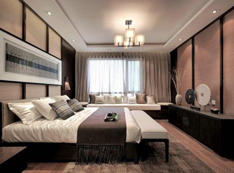 2021新中式110平米装修图片 2021新中式公寓装修设计