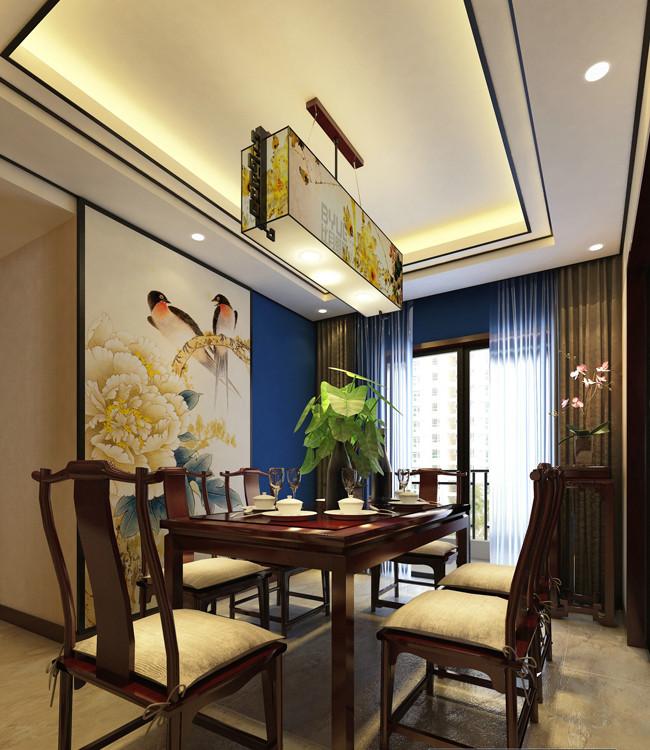 3室2卫2厅200平米新中式风格