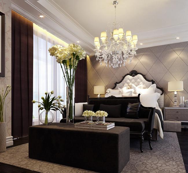 3室2卫1厅163平米简欧风格