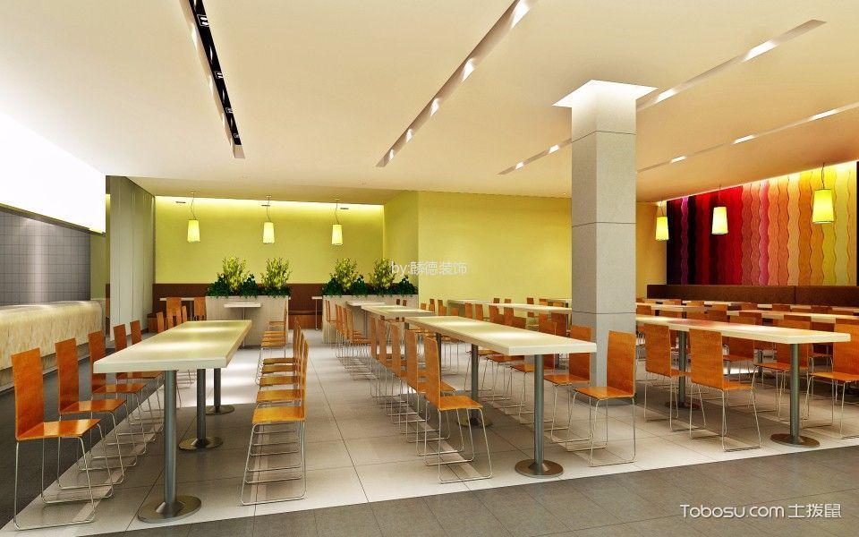 宜宾丝丽雅集团员工餐厅装饰实景图片