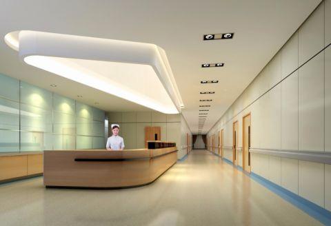 200万预算医院工装装修效果图