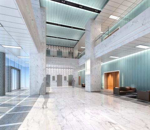 山天禄能源大厦200万工装装修效果图