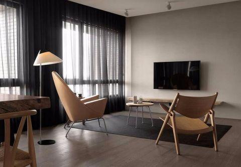 客廳背景墻房屋現代簡約設計圖