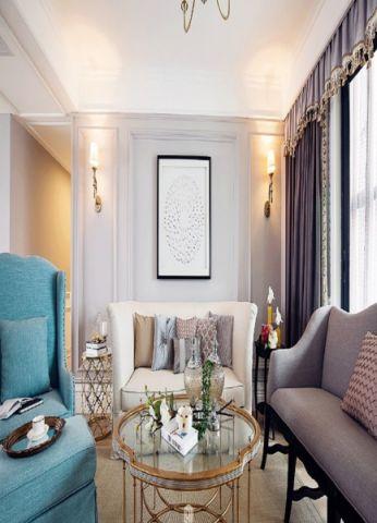 2021新古典80平米设计图片 2021新古典公寓装修设计