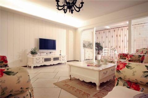 2021地中海120平米装修效果图片 2021地中海三居室装修设计图片