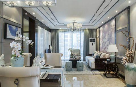 2021新中式90平米效果图 2021新中式二居室装修设计