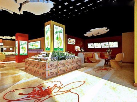 红桥区水果超市装工装装修效果图