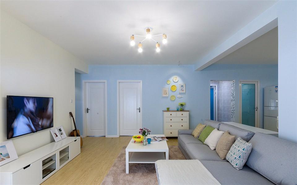 2室2卫1厅120平米现代简约风格