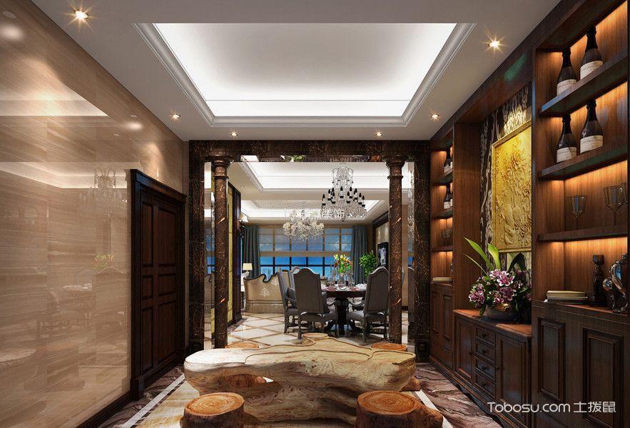 龙湖龙誉城美式装修风格效果图