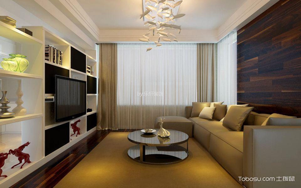 金鼎阳光苑100平米现代风格三居室装修效果图