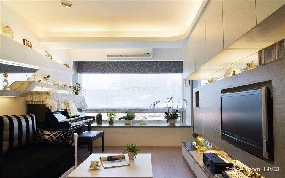 30平银锣湾现代简约公寓简单装修