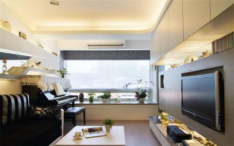 30平银锣湾现代简约公寓简单u乐娱乐平台
