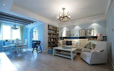 2020地中海70平米设计图片 2020地中海三居室装修设计图片