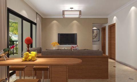 2020简中100平米图片 2020简中三居室装修设计图片