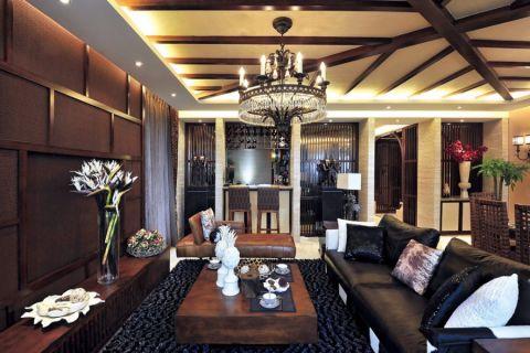 2020东南亚240平米装修图片 2020东南亚别墅装饰设计