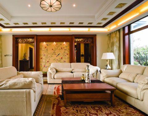 2020中式110平米装修图片 2020中式二居室装修设计
