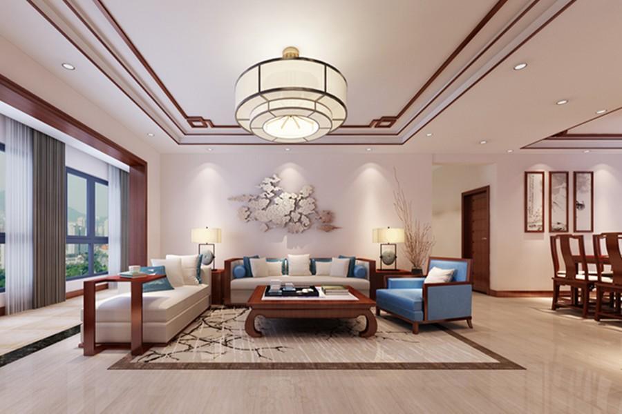 3室1卫2厅130平米简中风格
