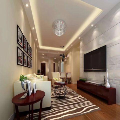 2019中式80平米设计图片 2019中式二居室装修设计
