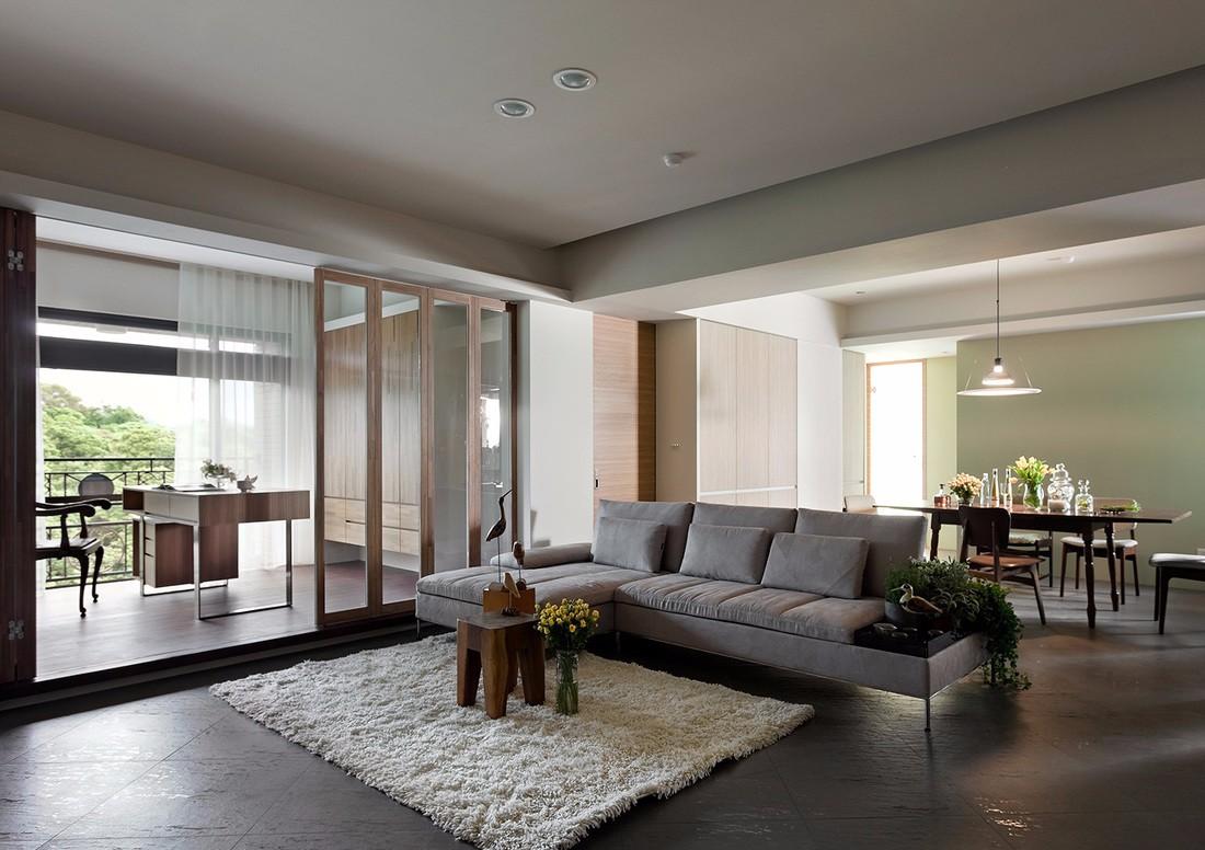 3室1卫2厅99平米简约风格